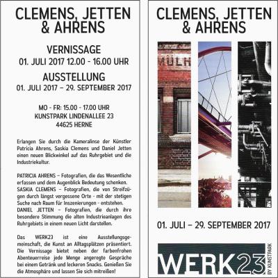 Flyer - Ausstellung | Herne