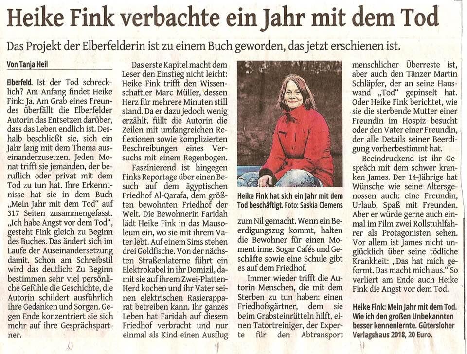 Heike Fink Westdeutsche Zeitung